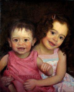 Portrait of Caitlin and Brigitte