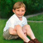 Portrait of James